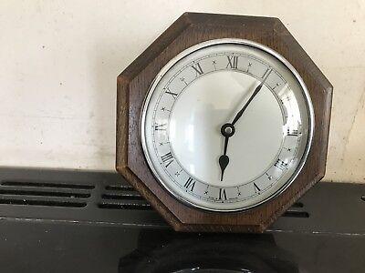 Vintage Oak Cased Wall Clock