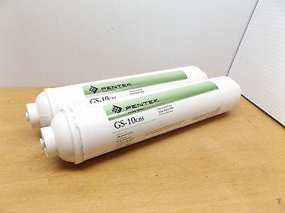 Pentek In-line-filter (LOT OF 2, PENTEK 255635-75  1EDB3 IN LINE FILTER 1/4