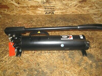 New Gates 77821 Enerpac P-80 Ultima Two Stage Hydraulic Hand Pump 10000 Psi