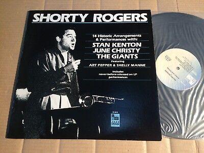SHORTY ROGERS - 14 HISTORIC ARRANGEMENTS & PERFORMANCES - LP - PAUSA - USA 1983