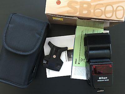 Nikon SB-600 Aufsteckblitz mit Tasche Speedlight OVP - Top Zustand online kaufen