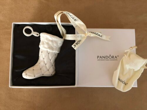 Authentic Pandora 2012 Limited Edition Christmas Stocking Boot Ornament NIB