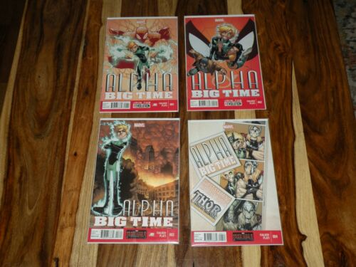 ALPHA BIG TIME 1 2 3 4 2013 + ALPHA FLIGHT 1 2 3 4 5 6 2004 ~ ALL NM RANGE!