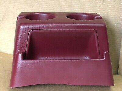 1992-1996 FORD F-150 DUAL CUP HOLDER RED USED