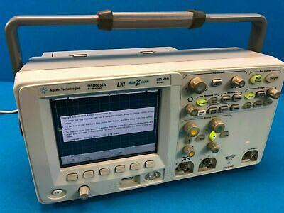 Agilent Technologies Dso 5032a Digital Storage Oscilloscope 300 Mhz 2ch