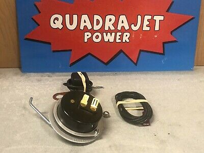 Quadrajet electric choke conversion kit. Chevrolet 350 400 1971-1978