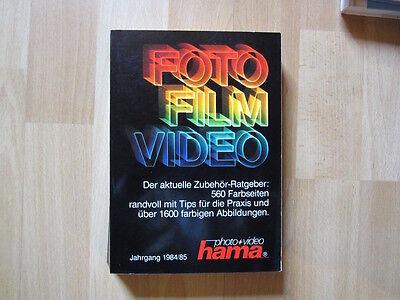 Foto Film Video Zubehör  Ratgeber 1984/85 Hama