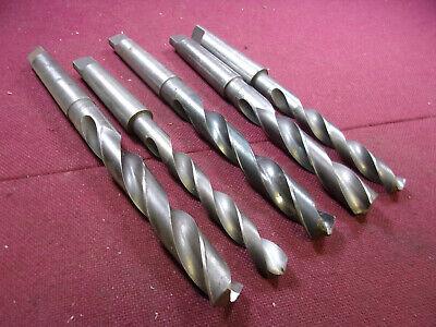 Lot Of 5 Morse Taper Drills 3mt Drills Loc6328
