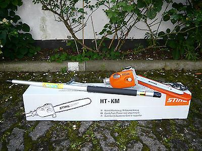 Stihl Kombi Motor KombiWerkzeug HT-KM Hoch-Entaster Astsäge Kettensäge Motorsäge