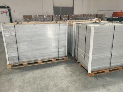 """PALLET OF USED BUT NEVER ENERGIZED"""" NEW CSUN 380 WATT SOLAR PANELS FREE SHIPPING"""