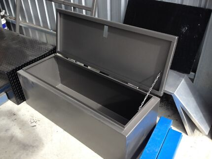 Heavy duty steel toolbox, camper trailer, trades Littlehampton Mount Barker Area Preview