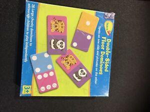Jungle Floor Dominoes Game - 28 double-sided dominoes