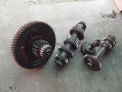 46 John Deere A Tractor Jd Transmission Matched Set Gear Gears Top Bottom Pinion