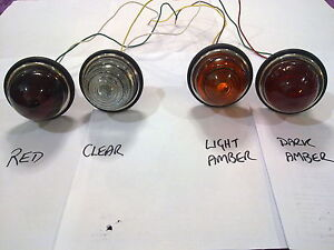 594 dome GLASS light amber red clear indicator brake hillman minx fj holden fx
