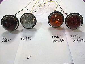 594 dome GLASS light amber red clear indicator brake hillman minx fj holden fx