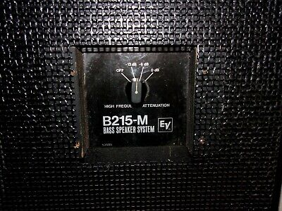 EV Electro Voice B215-M Guitar Bass Speaker Cabinet LONG ISLAND NY PICK UP