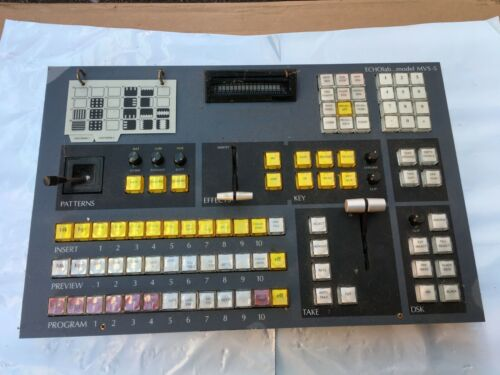 ECHOlab Model MVS-5 - Video Production Control Panel Ъ.