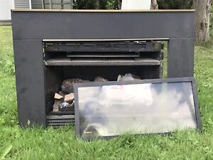 Slide in Electric Fireplace