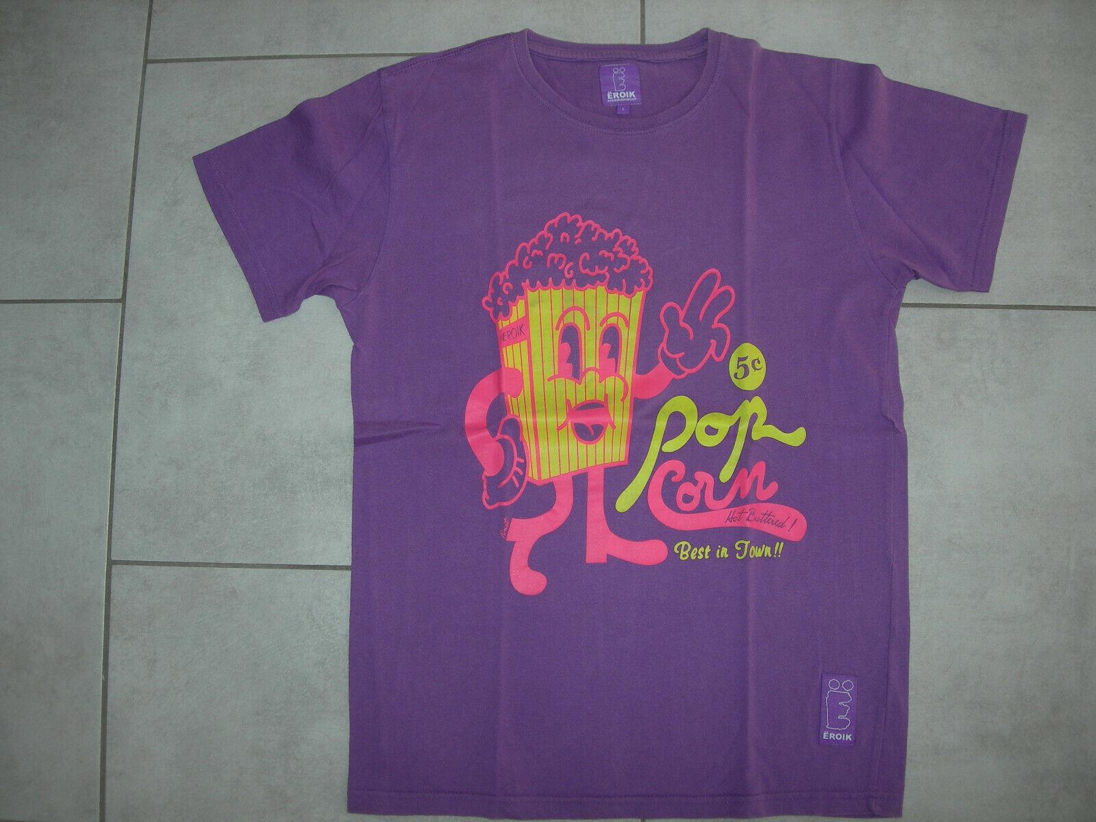 Tee shirt violet Ëroik taille l