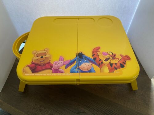 Winnie the Pooh Lunch Tray Folding Crafts Table Kids Table Tigger Eeyore Piglet