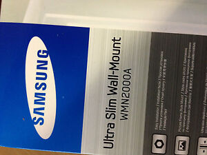GENUINE SAMSUNG ULTRA SLIM WALL-MOUNT WMN2000A D4000 Series and above ,C4000