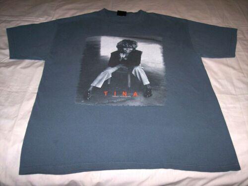 Tina Turner 24/7 Tour Gray Shirt Adult Extra Large XL 2000