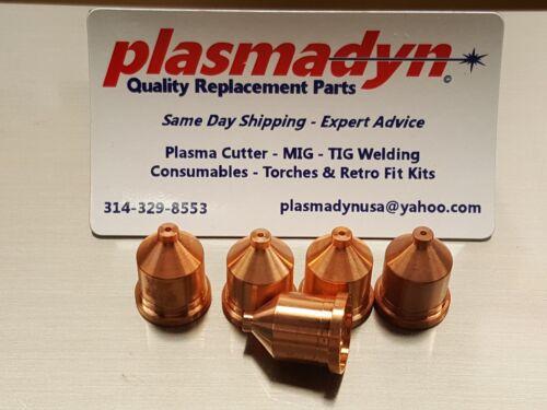 5pc x 120931 - 60A Nozzles Mfg in US by PlasmaDyn - *SKIP KNOCKOFF JUNK*