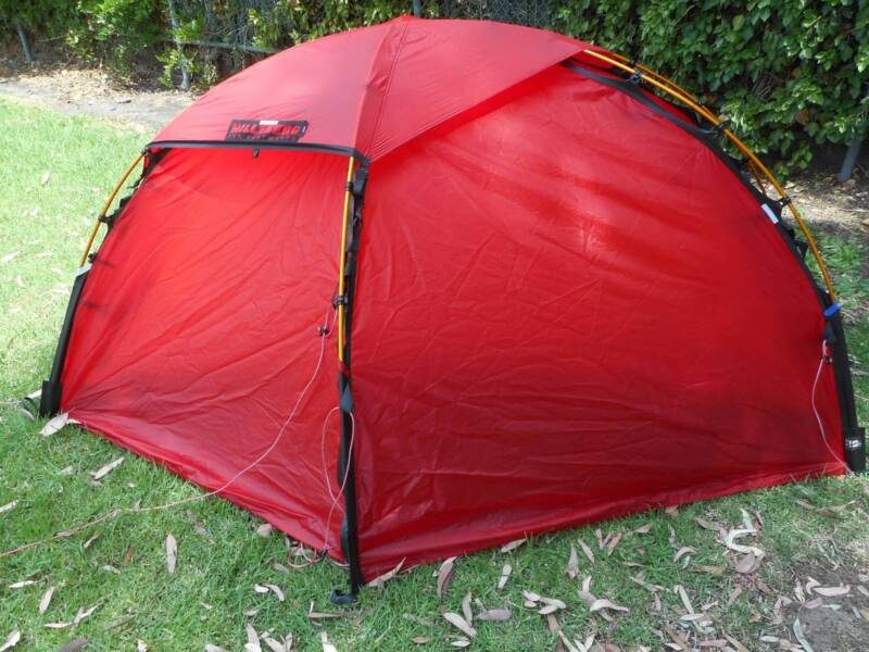 Hilleberg Soulo 1-person 4 season tent in excellent condition & Hilleberg Soulo 1-person 4 season tent in excellent condition ...