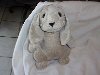 """2003 Second Nature CUDDLY QUARRY CRITTERS Standing Rabbit Bunny Plush RIPLEY 9"""", used for sale  Clearwater"""