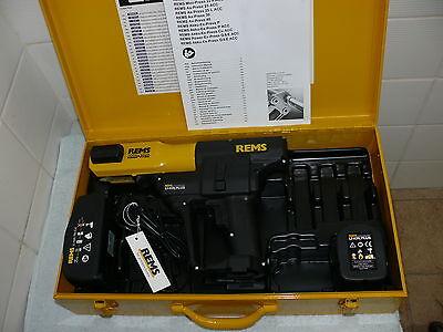 Rems Akku Press Li-Ion Radialpresse von 2016 im Koffer
