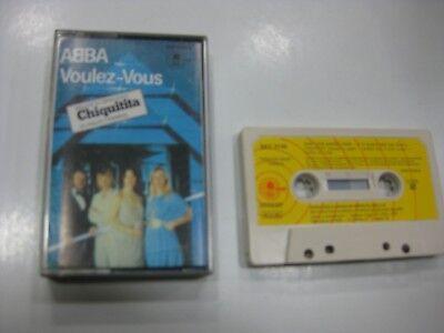 Abba Cassette Spanish Voulez-Vous 1979 Chiquitita