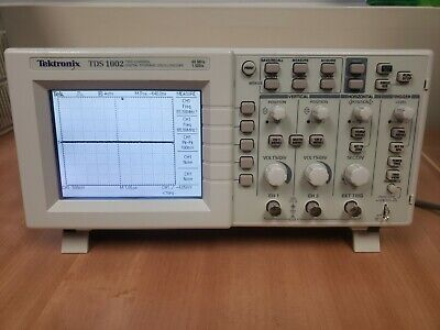 Tektronix Tds 1002 -2 Channel Digital Storage Oscilloscope - 60 Mhz 1gss