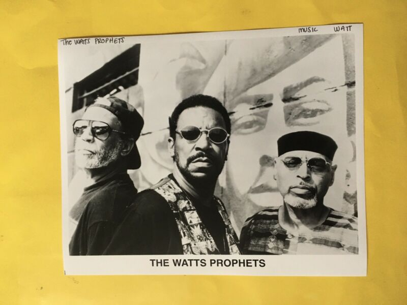 "The Watts Prophets Press Photo 8x10""."