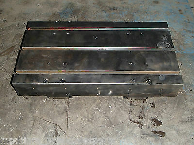 26 X 14 X 5 Steel Welding T-slotted Table Cast Iron Layout Plate T-slot Weld