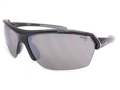 Cebe Wild Sports Sunglasses Black / Grey Flash Silver Mirror (Cebe Wild Sunglasses)