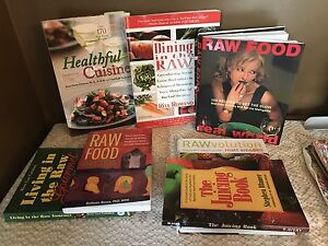Raw cooking cookbooks