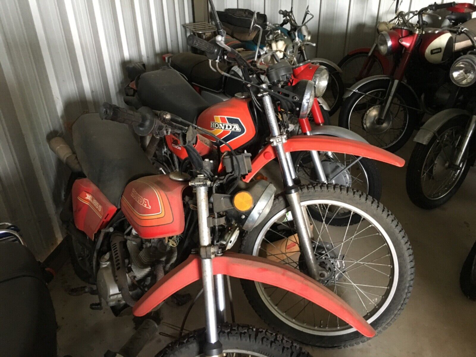 Picture of A 1978 Honda Xl 250 /185 250