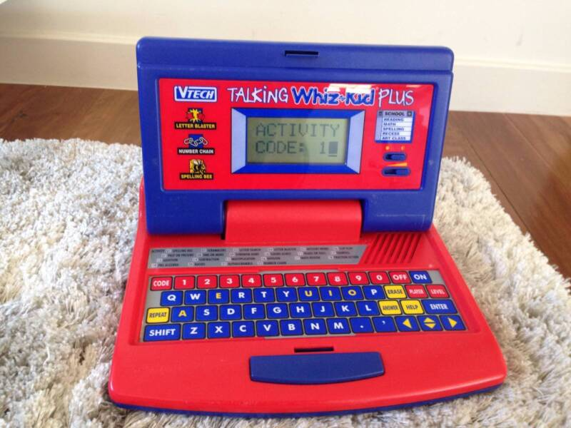 VTech Talking Whiz-Kid Plus Learning Laptop Computer | Toys ...