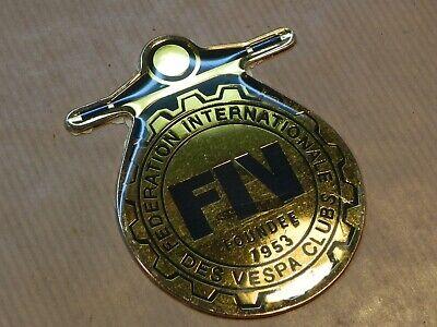 Vespa Badge FIV