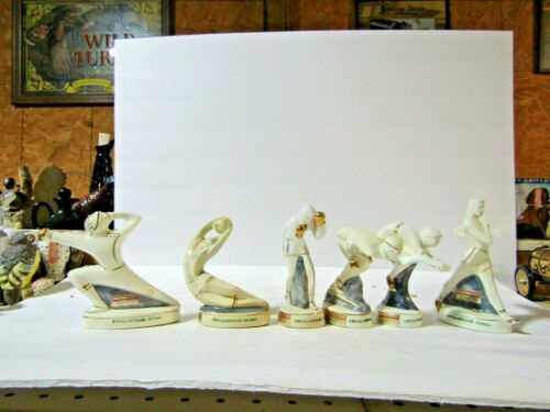 11960 Fratelli Vlahou Set Of 6 Olympic Miniature Decanter
