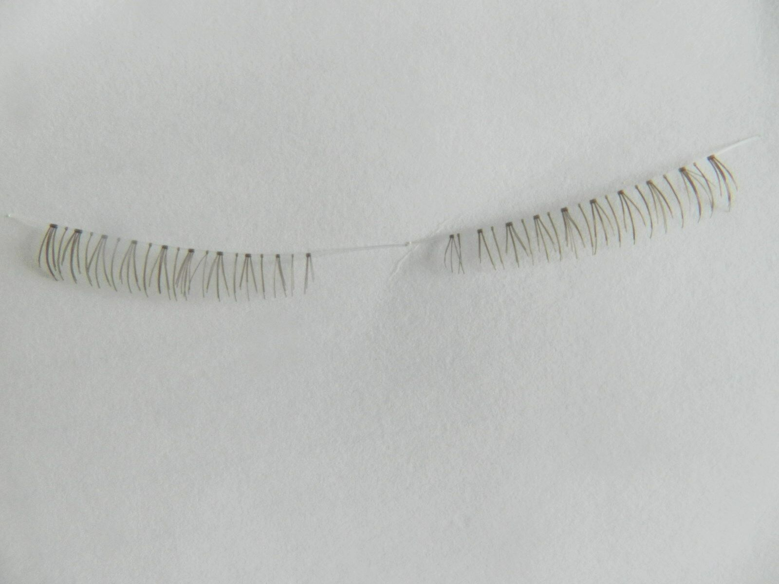 Reborn Wispy Bottom Eyelashes Brown For Reborn Baby Dolls <3!!.Priced to Sell
