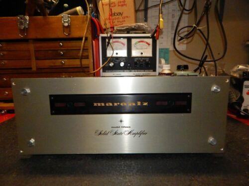 Vintage Marantz Model 15 Solid State Stereo Amplifier