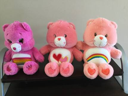 care bears,talking vintage cheer bear,plus others,can post