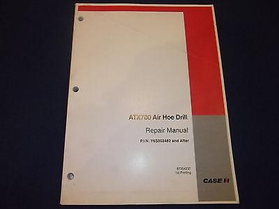 Estuche ATX700 Taladro de Aire Servicio Tienda Taller Reparar Libro Manual S/N
