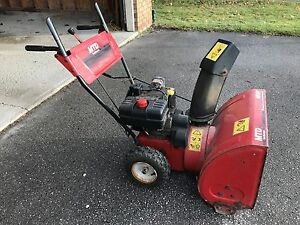 "8 hp 24"" Two Stage MTD Snowbolwer"