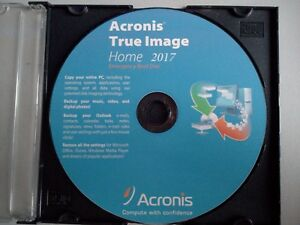 Acronis True Image 2017 Data Backup -Data Restore -Clone -Copy -Migrate incl SSD