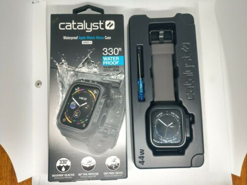 Catalyst - Protective Waterproof Case for Apple Watch44mm Space Gray - OPEN BOX