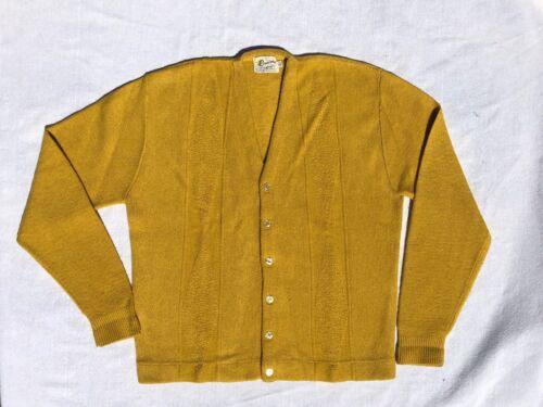 Vintage 1960s Rinardo Cardigan Sweater Men
