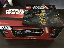 Star Wars DARTH VADER Bluetooth Speaker+Lego C3PO minifigs bonus Hornsby Hornsby Area Preview