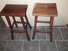 2x stools for sale dark brown Mount Keira Wollongong Area Preview